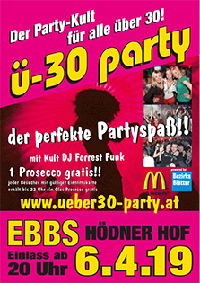 Ü30 Party Ebbs